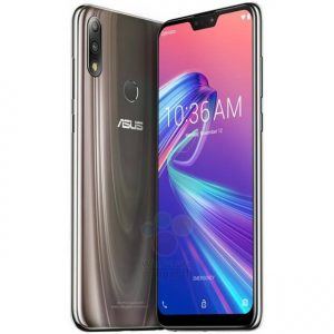 Images showing the product render of ASUS ZenFone Max Pro M2