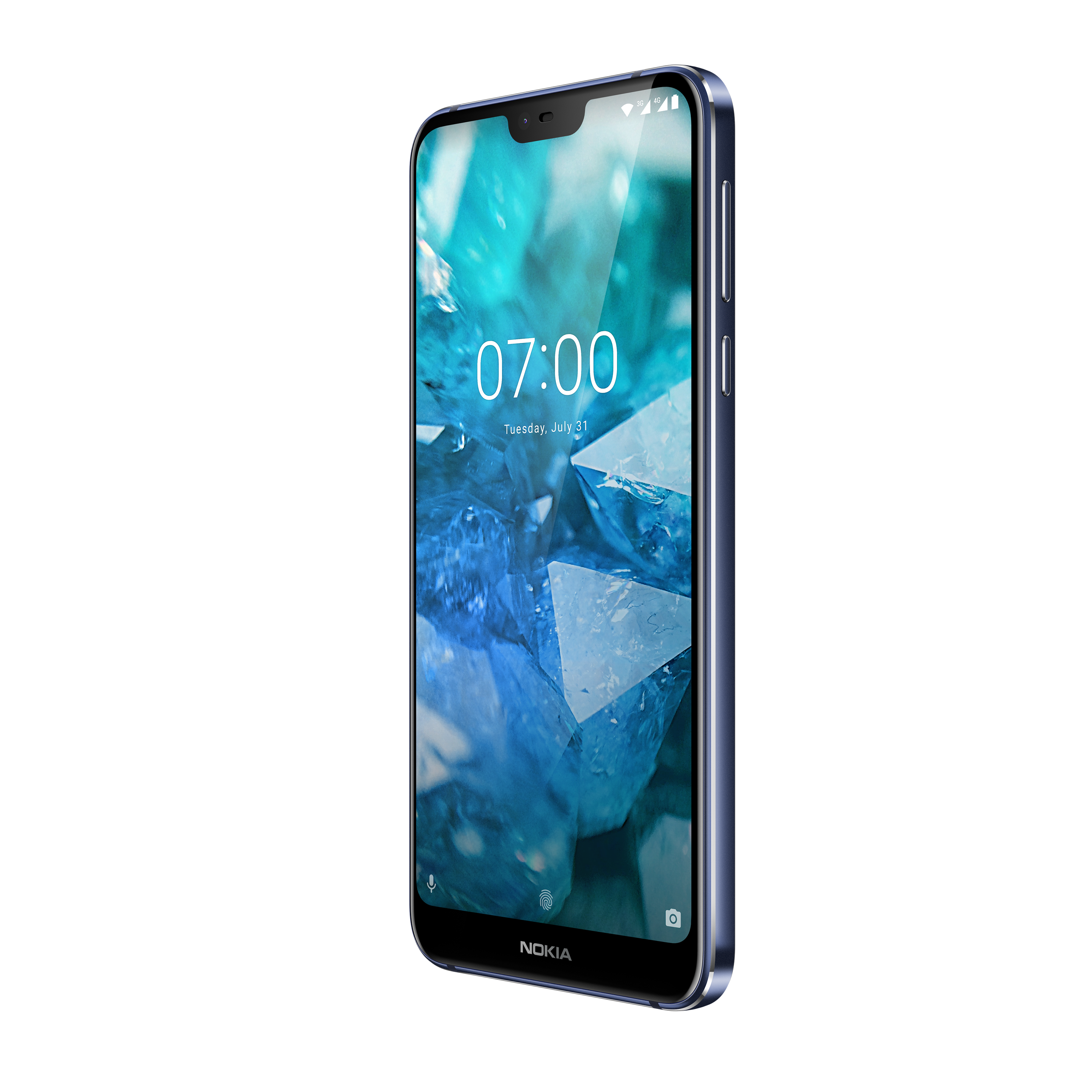 Image showing the front view of Nokia 7.1