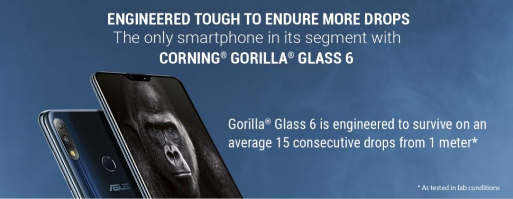 Image showing Corning Gorilla Glass feature on Max Pro M2