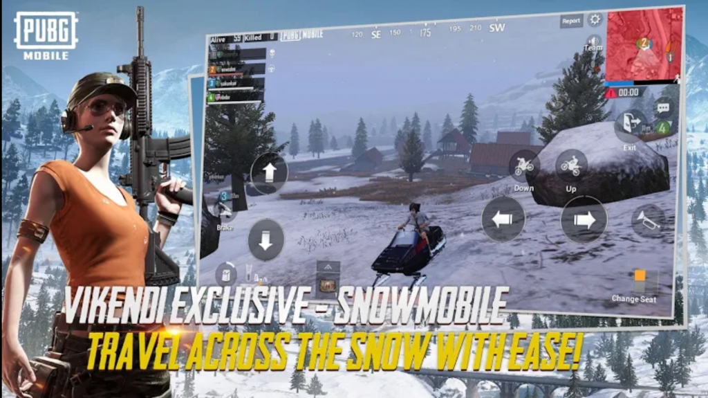 Image showing the new snowmobile vehicle on Vikendi