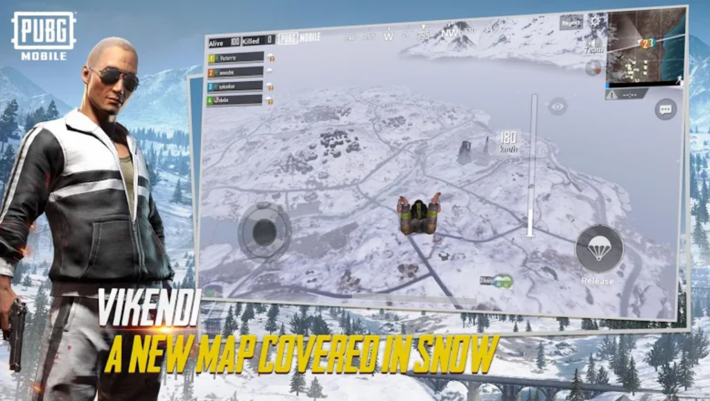 Image showing the new map of PUBG Mobile