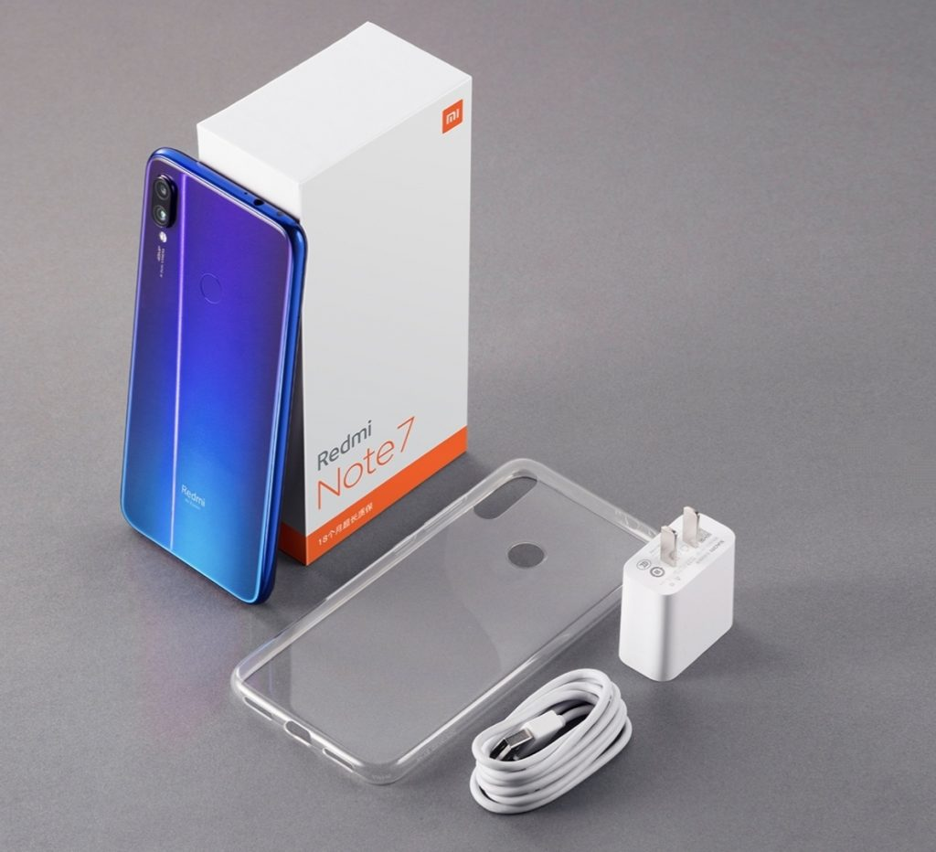 Redmi Note 7 Packaging