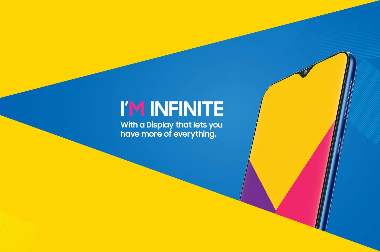 Infinity-V teardrop display