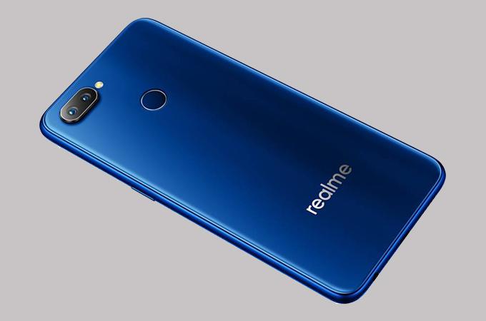 Realme 2 Pro Blue Color