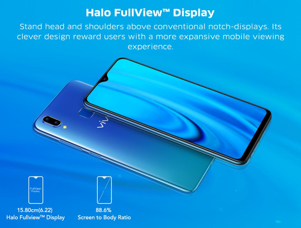 Vivo Y91 Halo View Display