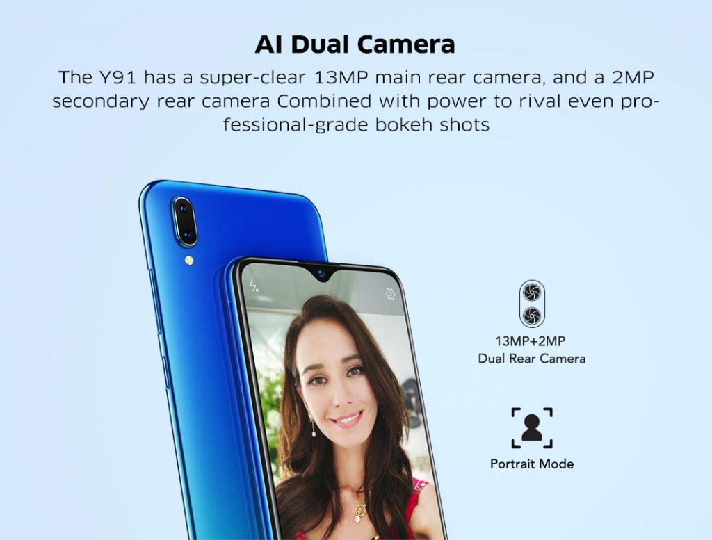 Vivo Y91 Dual AI Camera