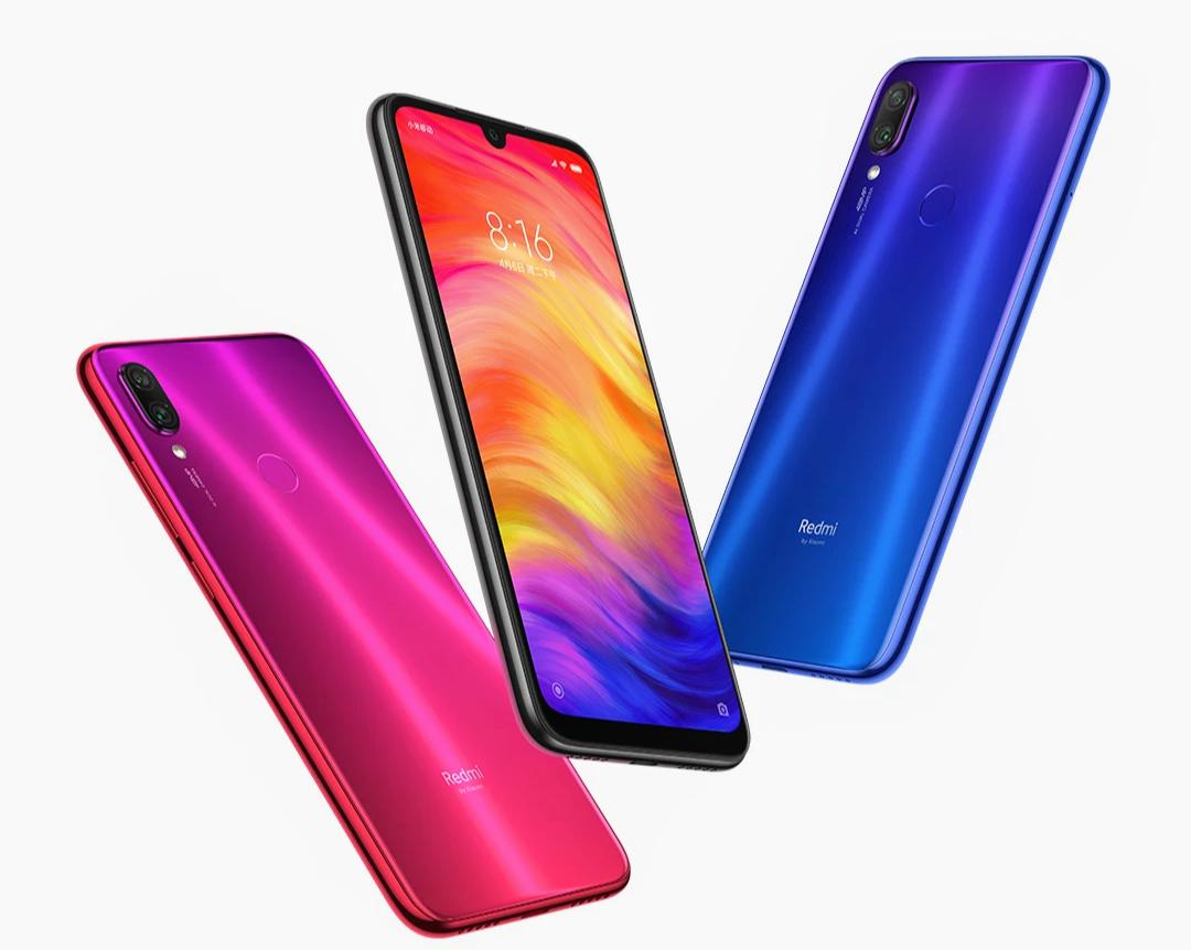 Redmi Note 7 in All 3 Colors