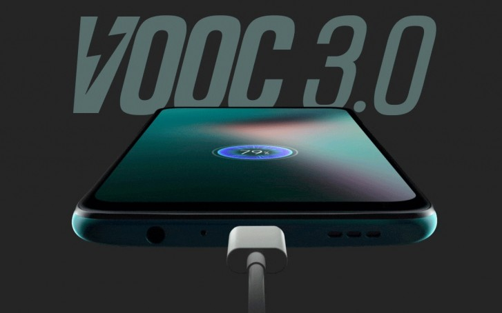 Oppo K3 along with VOOC chargers