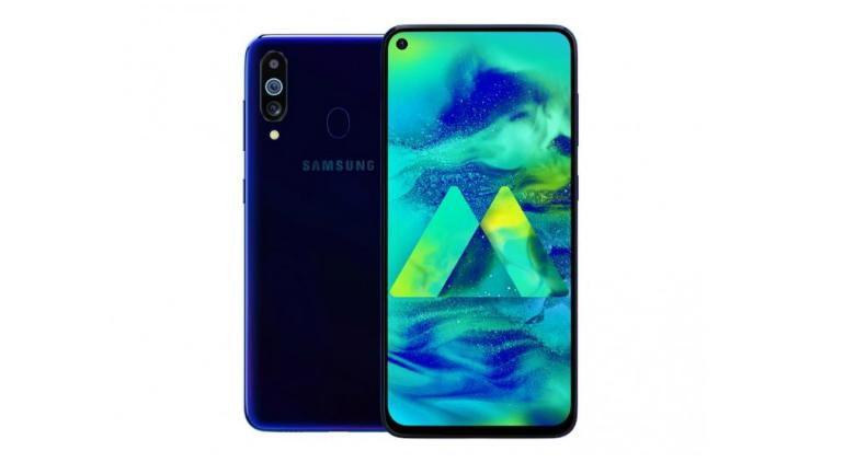 Galaxy M40 with Punch Hole