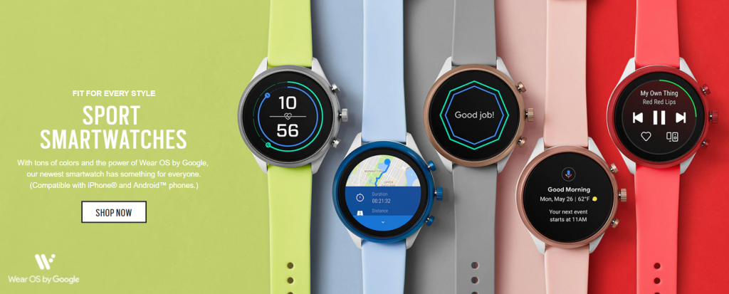 Fossil Sport Smartwatch India