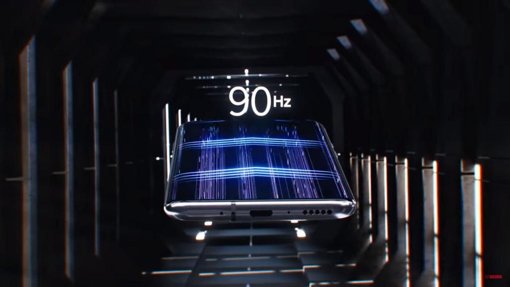 90hz display n OnePlus 7 Pro