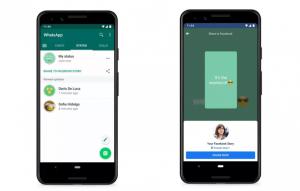 Status Sharing Feature on WhatsApp