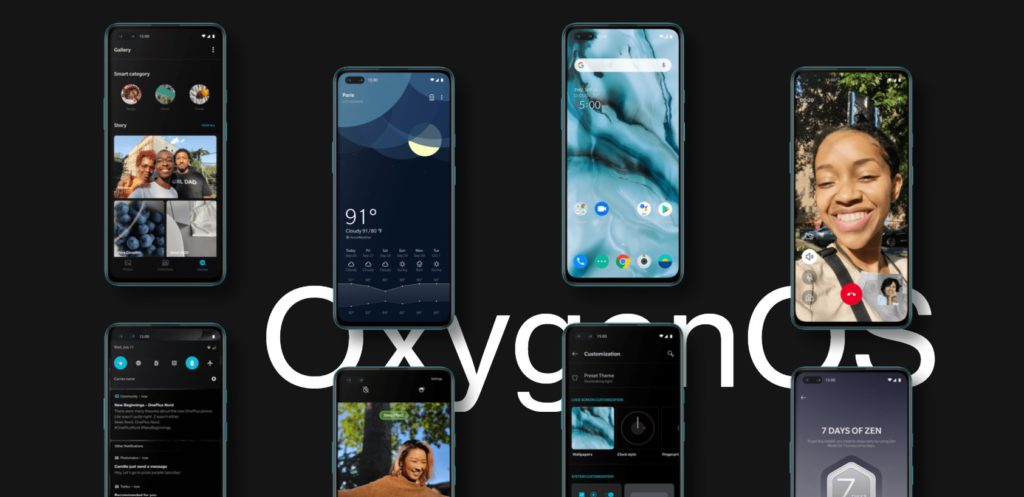 OnePlus Nord runs Oxygen OS