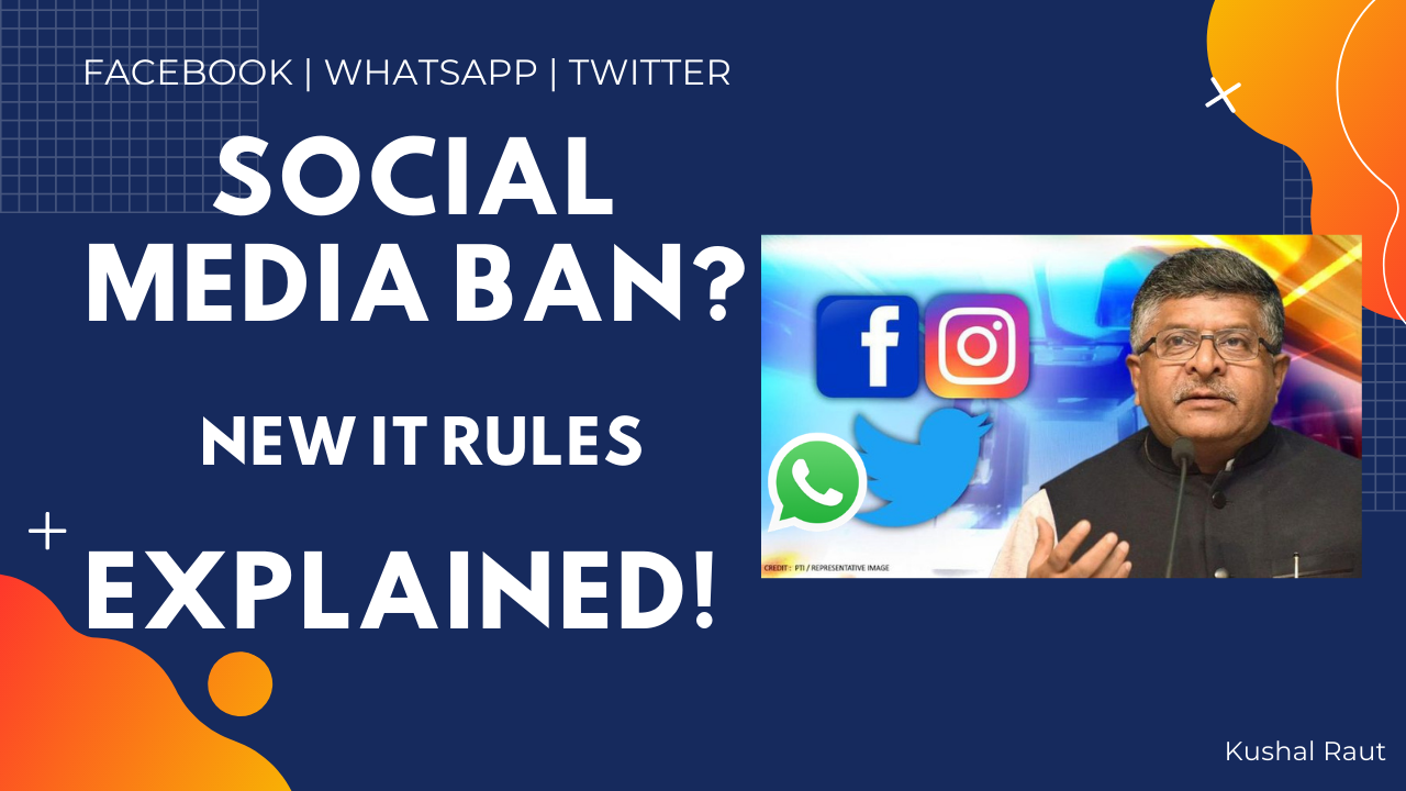 why there is no ban on social media