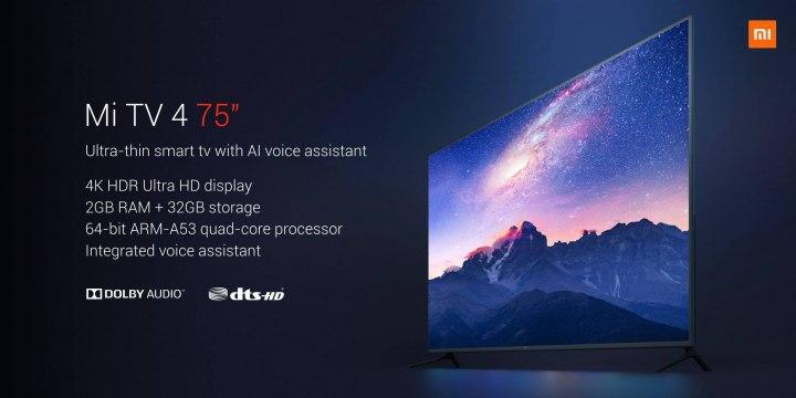 Mi TV 4 75-inches