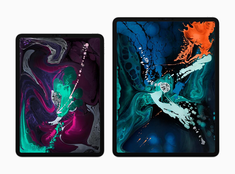 """Image showing iPad Pro 2018 11"""" & 12.9"""" Models"""