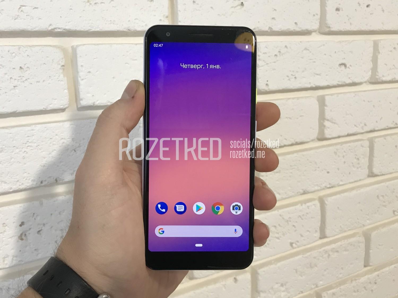 Pixel 3 Lite Front View