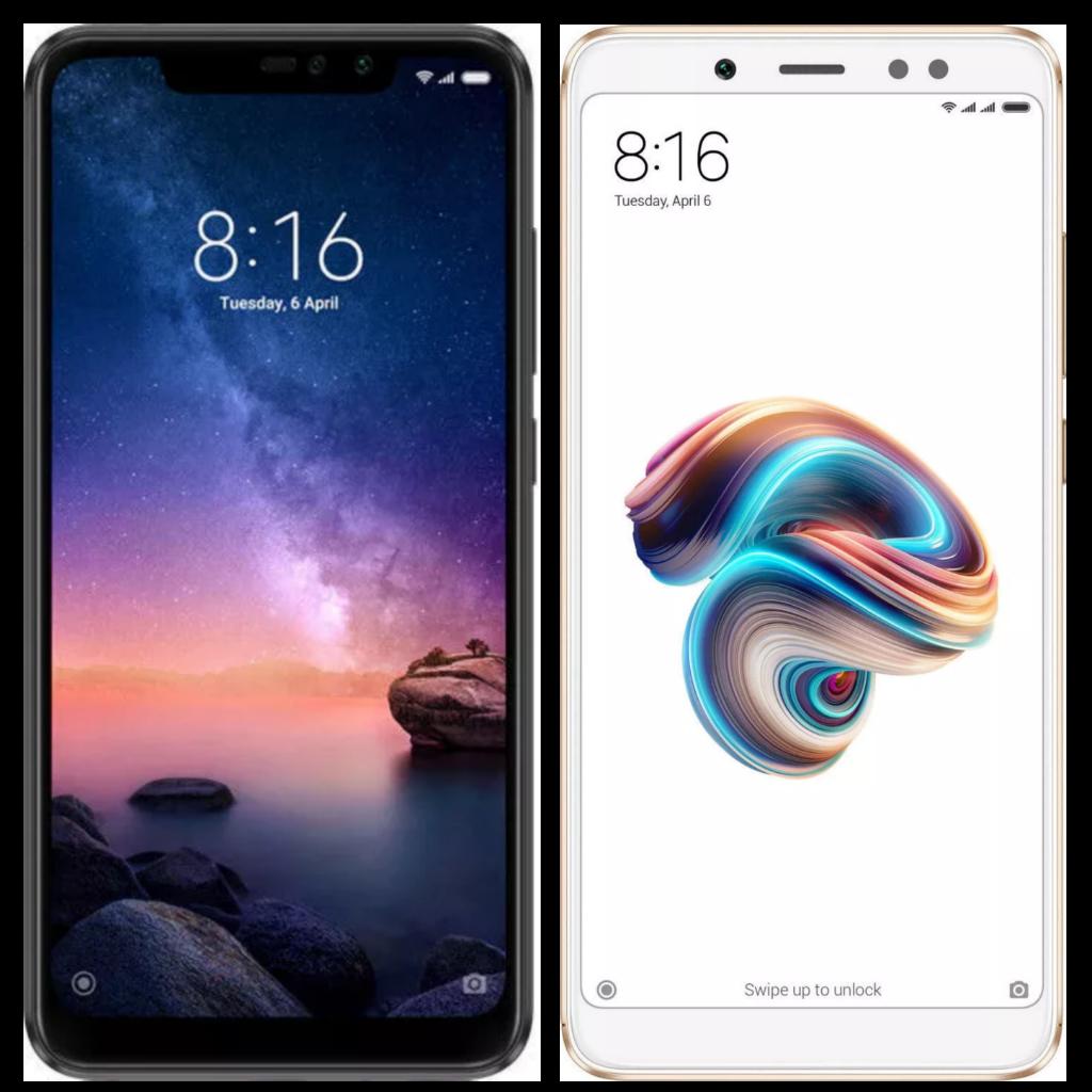 Image showing Redmi Note 6 Pro & Redmi Note 5 Pro Comparison