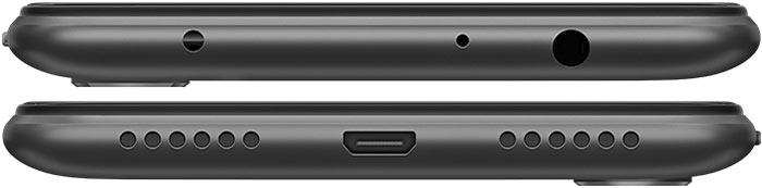 Redmi Note 6 Pro Top and Bottom View