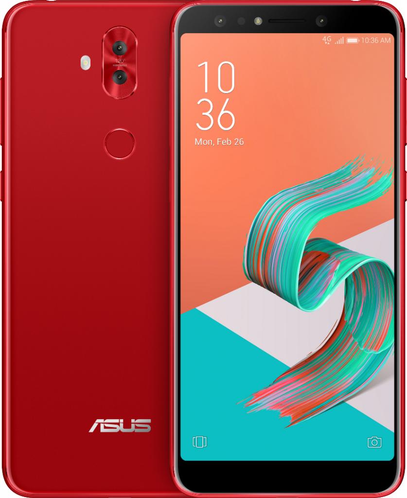 Image showing Asus Zenfone 5 Lite Red Color Variant