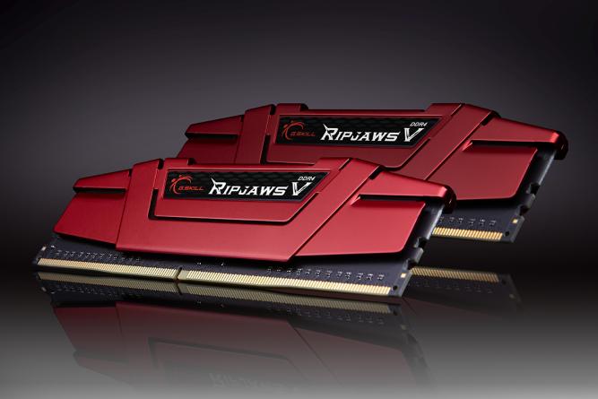 Image showing Gskill Ripjaws V 16GB DDR4 RAM