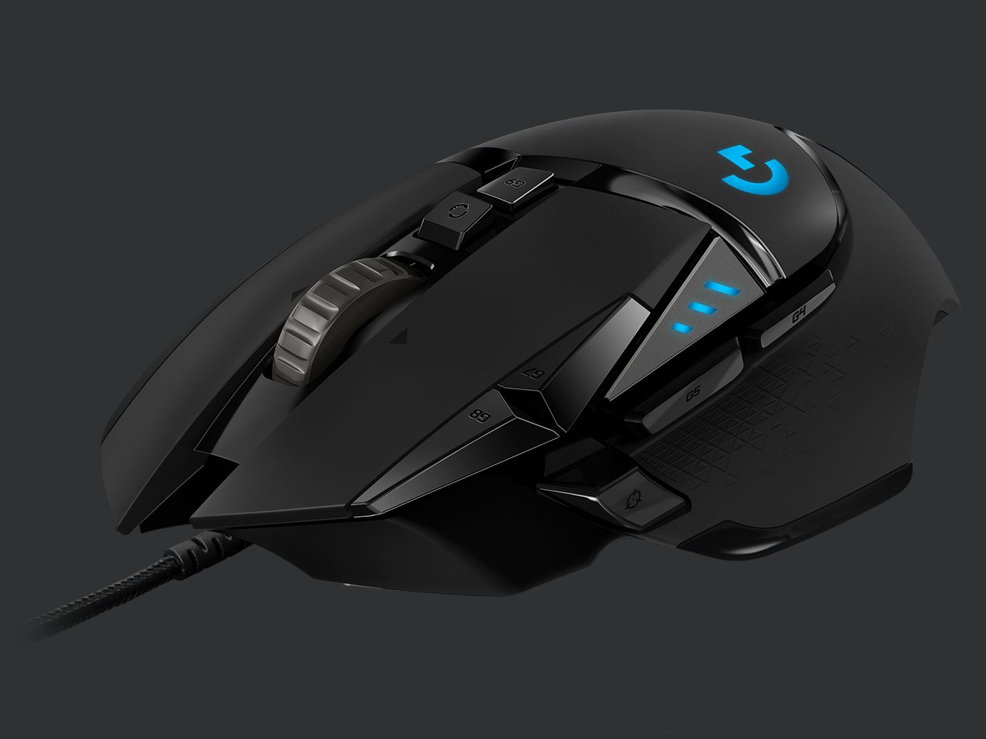 Image Showing Logitech G502 Gaming Mouse