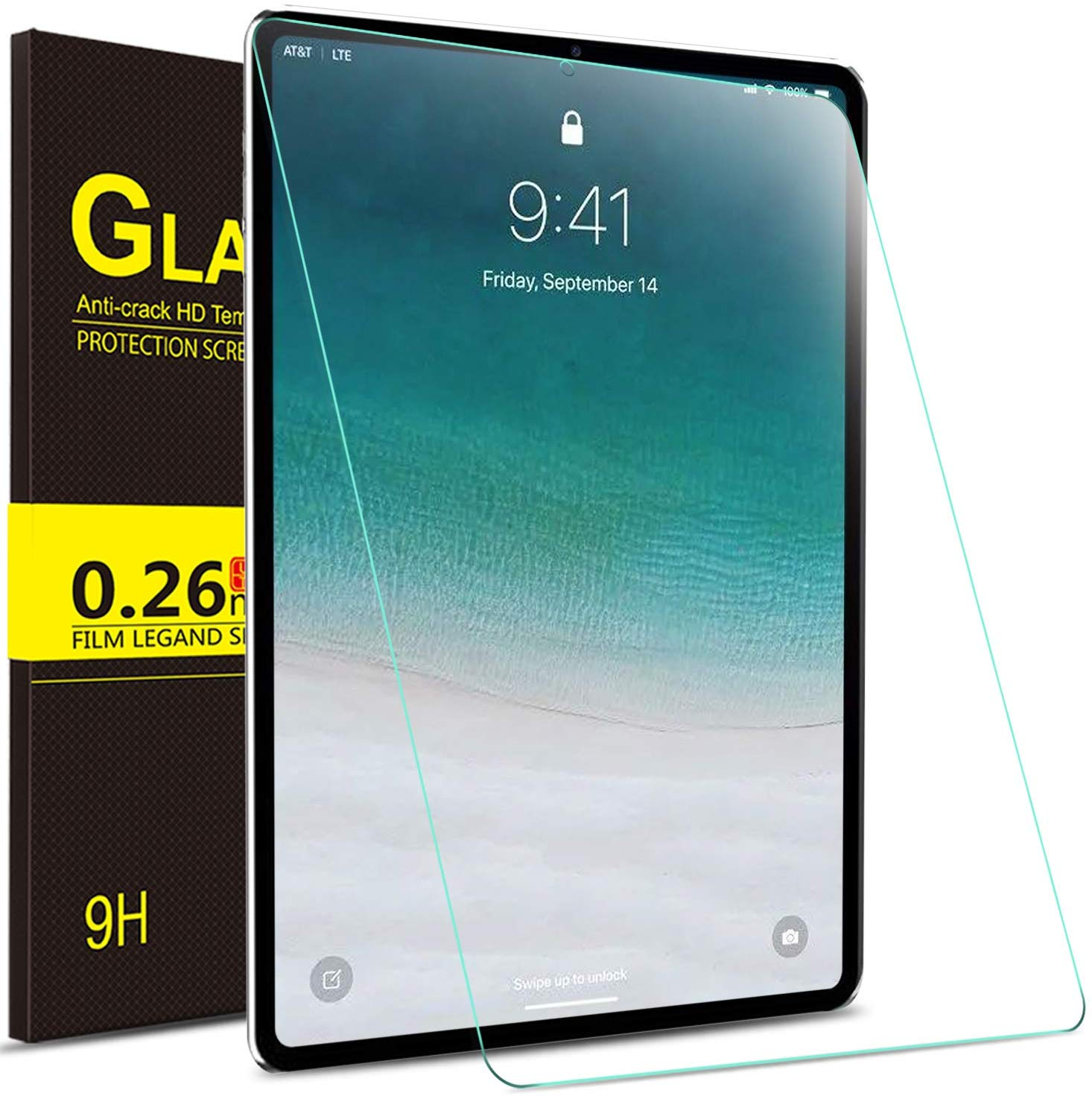 Best Accessories for Apple iPad Pro 2018 9. IVSO Tempered Glass